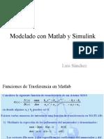 Modelado en Matlab y Simulink