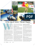 At the cusp of Victory- Vikrant Chopra
