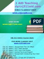 CRJ 311 AID Teaching Effectively/ Crj311aid.com