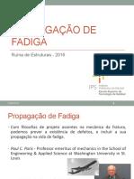 Propagação de Fadiga - 2016