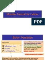 moodle tutorial lehrer