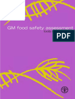 Assessment of GM Food
