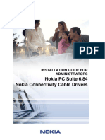 Nokia PC Suite 684 Installation Eng