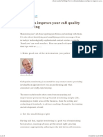 30 Tips to Improve Your Call Quality Monitoring