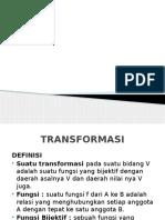 Geometri Transformasi