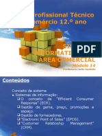 Sistemas de informação na área comercial