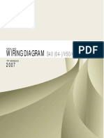 TP3999202 2007 S40 V50 C70 Wiring Diagram