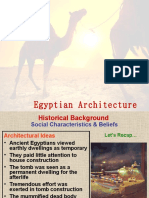 Wcv Egyptian Architecture