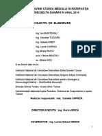 Raport Starea Mediului 2014