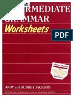 English Intermediate Grammar Worksheets