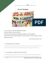 Língua Portuguesa_25 de Abril