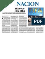 160512 La Nación (Argentina)- El Día D Para Kosovo y Gibraltar en La FIFA
