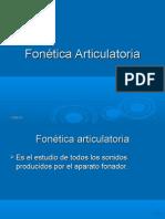 Fonética Articulatoria-Punto y Modo