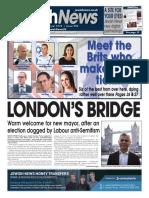 12 May 2016, Jewish News, Issue 950
