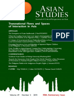 Asian Studies Vol 49 No 2 - 2013