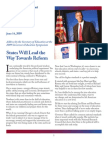 Arne Duncan's Speech to the National Governors' Association