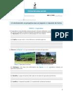 Teste Agricultura e Pesca