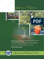 OWT_Completion Report_Green PNPM in Sulawesi_2013