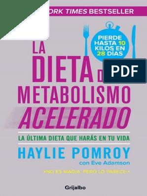 Dieta del metabolismo acelerado pdf download