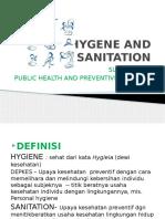 Hygene and Sanitation