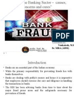 Fraud in Banking Sector