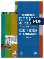 BCH Design Guidelines and Construction Standards