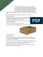 Fallas Fracturas y Diaclasas Geologicas