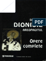 Dionisie Areopagitul - Opere Complete