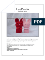 crochet pattern Bunnies