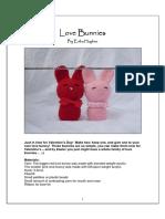 crochet pattern Bunnies