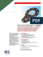 KLINGERsilC-4500 Gasket Material