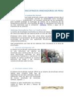 Sistemas de Encofrados Innovadores en Peru