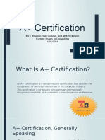 A+ Certification ppt - Copy