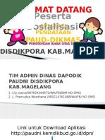Manual Guide Dapodik Paudni Disdikpora Kab.magelang Fix