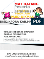 Manual Guide Dapodik Paudni Disdikpora Kab.magelang Fix