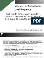 ElMercurio vs Asamblea Constituyente2012 2013