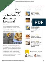 Donosimo Bakin Recept Za Bučnicu s Domaćim Korama! - Dobra Hrana