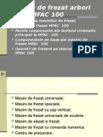 Masina de Frezat MFAC