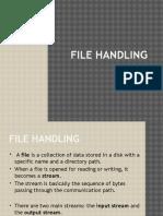 13 File Handling