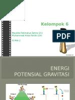 Energi Potensial Gravitasi - Muhammad Anas Farobi dan Maulida Fatimatuz Zahra.pptx