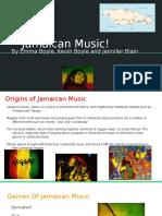 music slide- jamaica