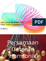 Persamaan gerak harmonik - Dalin Junior Murthado dan Intan Thalia Maharani.pptx