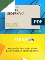 Periode Bandul Sederhana - Shofaa Qothrunnadaa dan Yulianita Trijayanti.pptx