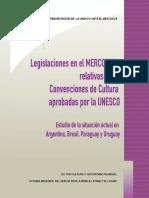 Legislación Mercosur Sobre Patrimonio y Convenciones UNESCO