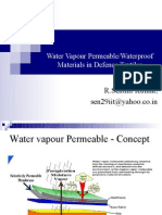 Water Vapor Permeable in Defence Textiles