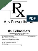 Ars Prescribendi