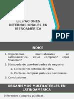 Licitaciones Internacionales en Iberoamerica