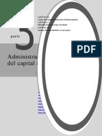 Capítulo 6 Capital de Trabajo y Decisiones de Financiamiento