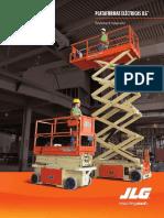JLG Plataformas Electricas de Trabajo Aereo ColSp