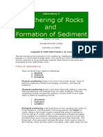 weathering & formation of sediment.doc